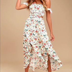 Lulus high-low floral dress